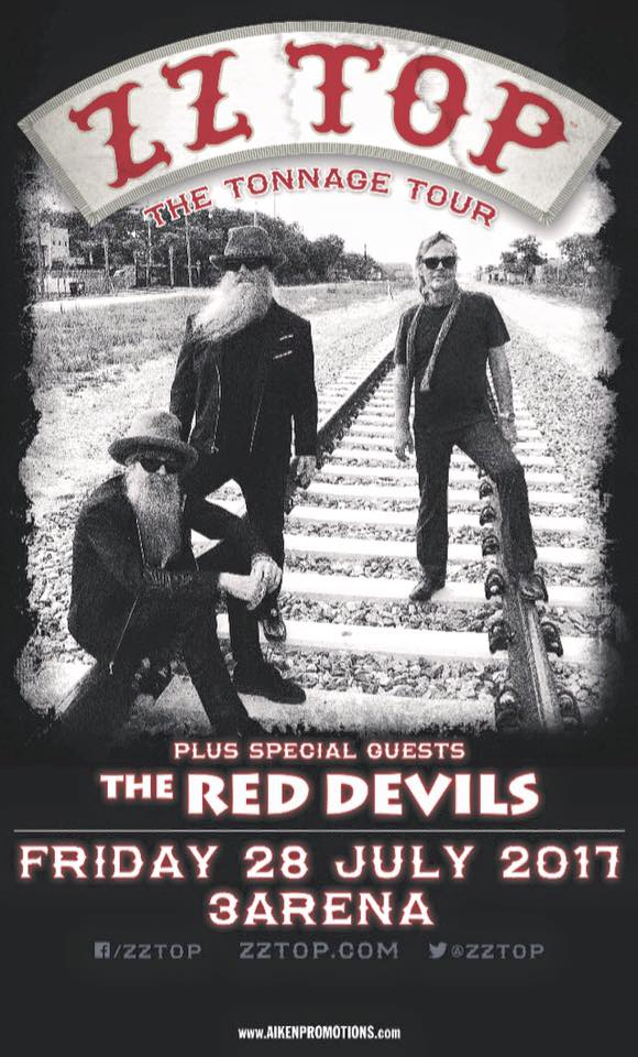 ZZ Top & the Red Devils band